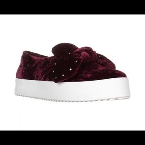 REBECCA MINKOFF STACEY STUDDED SNEAKERS